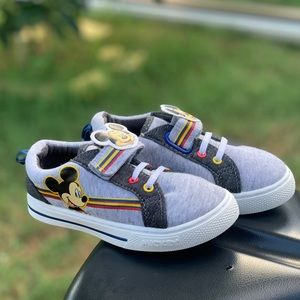 Shoes - Disney Mickey Mouse Toddler Boys Casual Strap Shoe